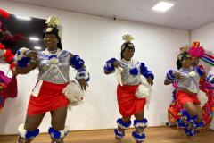 DXN Nigeria office opening ceremony with dancers