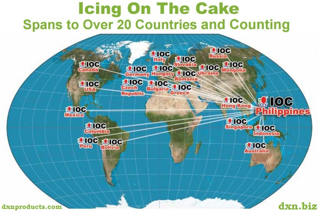 DXN Icing On The Cake IOC renumeration plan details
