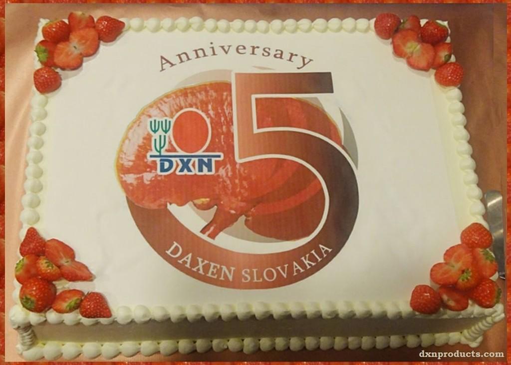 Happy birthday DXN Slovakia!