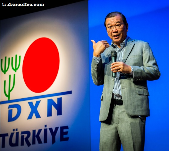 dr. Lim at Turkish market opening ceremony of DXN