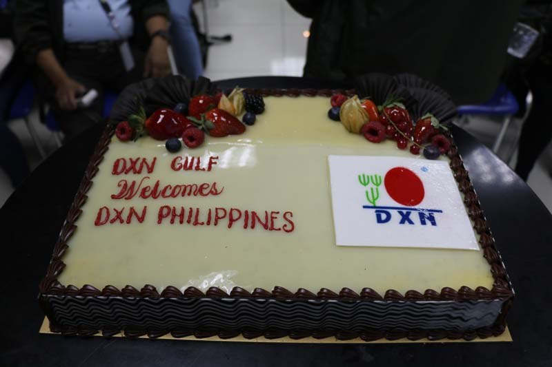 DXN Gulf Office welcomes visitors of DXN Philippines branch