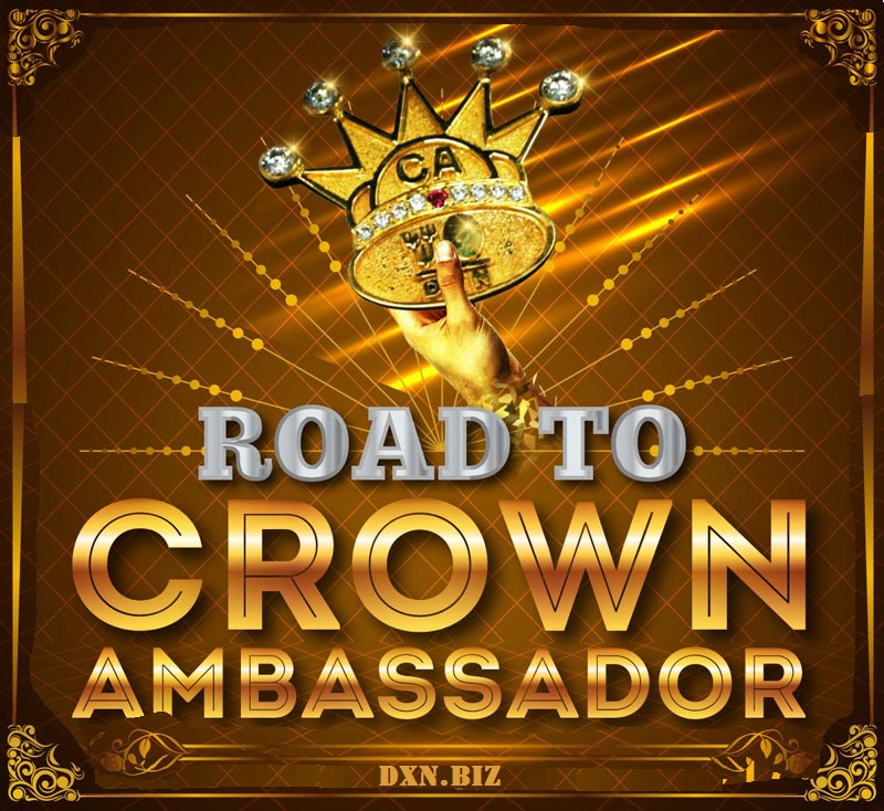 My DXN coffee business is the Road to Crown Ambassador: time and money freedom at its fullest.