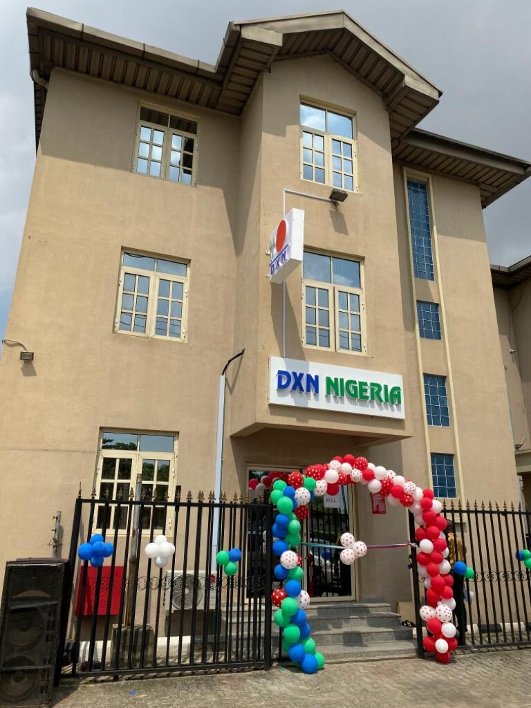 DXN Nigeria office building in Lagos city